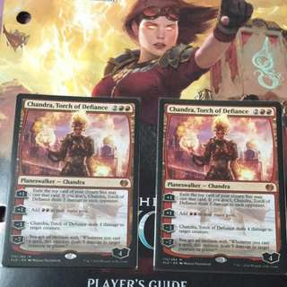 1 x Chandra, Torch of Defiance (Kaladesh) - Magic The Gathering MTG KLD cards