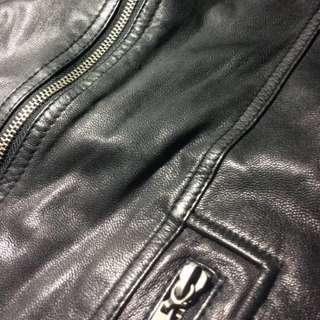 🇮🇹義大利製造真品! 🇮🇹D&G 女士機車夾克 皮衣