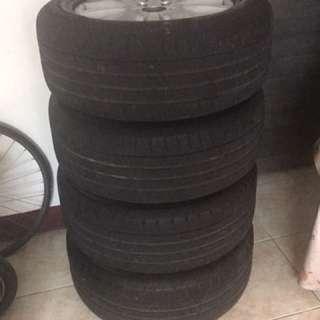 保時捷 Porsche Cayenne 19寸輪框+輪胎