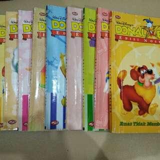 Buku Donal Bebek edisi lama