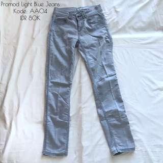 Promod Gray Jeans