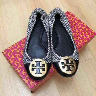 Tory Burch Tweed Shoes (Size 6)