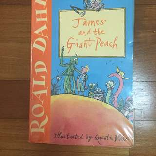 Storybook James and the Giant Peach Roald Dahl