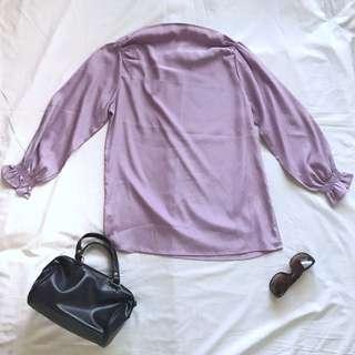 Purple Blouse / Top