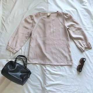 Cream Blouse / Top