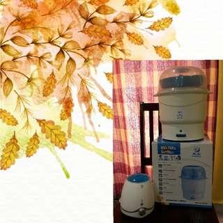 Snow Bear Bottle Sterilizer & IQ Milk Warmer