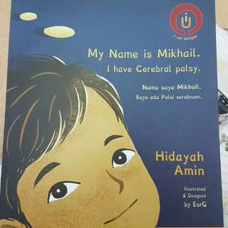 My Name is Mikhail. I have Cerebral palsy