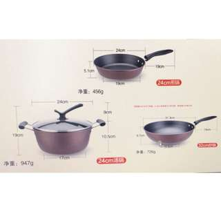 3-pc. Easy Cookware Set