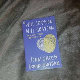 Will Grayson, Will Grayson by John Green and David Leuithan