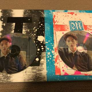 WANT TO TRADE SHOWNU SHINE FOREVER CD PLATES TO BOTH KIHYUN