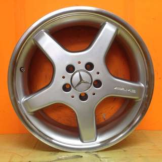 17 inch SPORT RIM MERCEDES BENZ ORIGINAL STAGGERED AMG