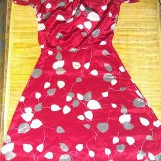 Dress vintage red