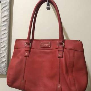 Kate spade shoulder bag -Red