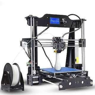 Tronxy X8 220 x 220 x 200mm Desktop DIY 3D Printer