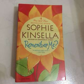 "Sophie Kinsella ""Remember me?"""