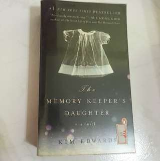 "Kim Edwards ""The memory keeper's daughter"""