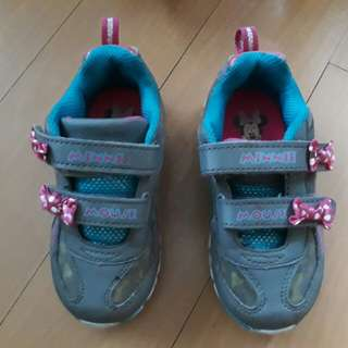 Minnie mouse rubber shoes bought from payless