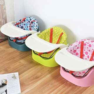 Multifunctional dining chair baby with cushion