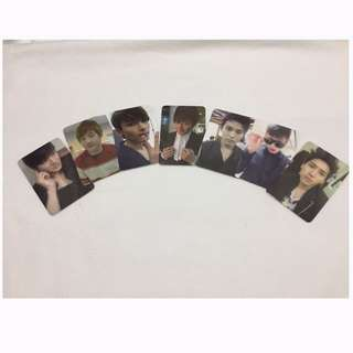 Super Junior M Photocards with Signature