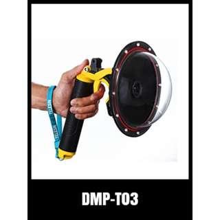 DMP-T03 DOME PORT GOPRO FLOAT ACCESSORIES PARTS HD Hero 1 2 3 4