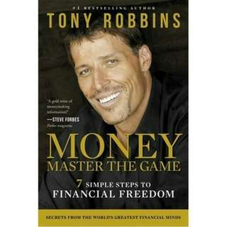 Brand New - Money: Master The Game by Tony Robbins: 7 Simple Steps to Financial Freedom - Paperback