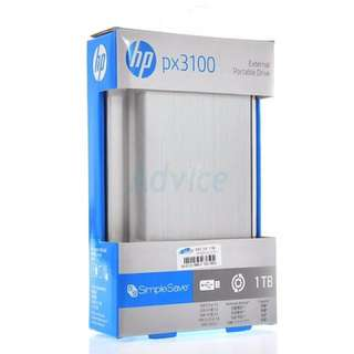 HP 1TB Harddisk External Portable USB 3.0 Hard Drive (Totally New)