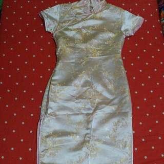 Chinese dress, cheongsam (open barter)