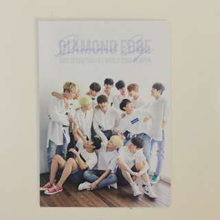 Seventeen Diamond Edge Japan Trading Card