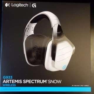 Logitech G933 Artemis Spectrum Snow (wireless)