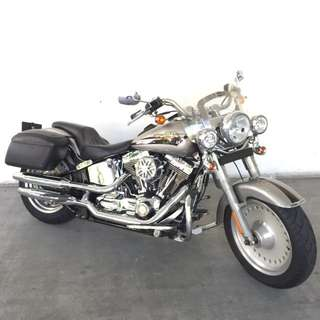 Harley Davidson FLSTF Softail Fatboy . Bike registered on 28/07/2009