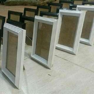 ( $7.50 each) White Wedding/Home Decor Frames
