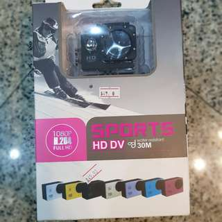 Sports action camera (BRAND NEW)