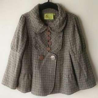 韓國Casa De Kelvin混羊毛外套 Casa de Kelvin Mixed Wool Jacket