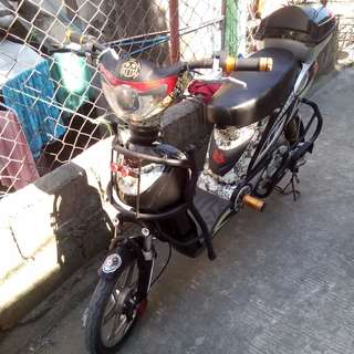 E BIKE WITH ISSUE