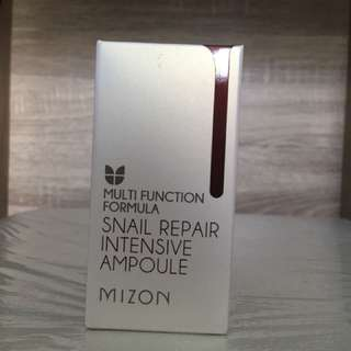 BNIB Mizon Snail Repair Intensive Ampoule
