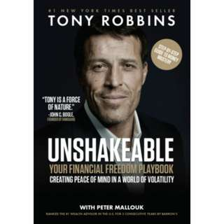 Brand New - Unshakeable: Your Financial Freedom Playbook by Tony Robbins - Paperback