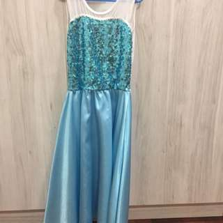 Pre loved Frozen Sequined Dress size L