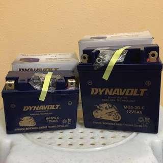 Dynavolt Motorcycle Battery