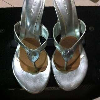 ALDO silver Size 38