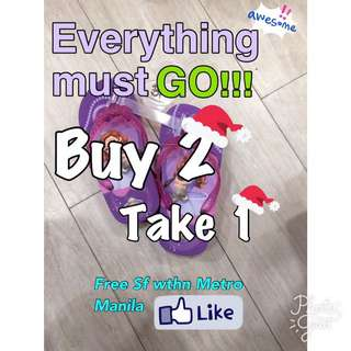 Buy 2 Take 1 FREE SF within Metro MANILA