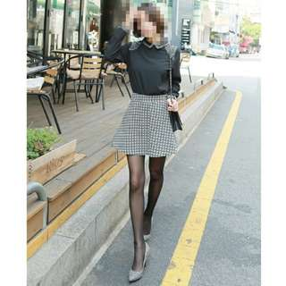 全新轉賣 格紋裙 可換物