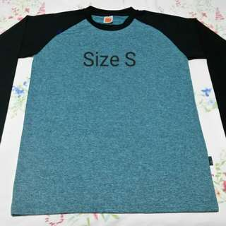 Blue Cool-Fit Long Sleeve T Shirt
