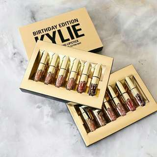 Kylie Biryhday Edition Matte Lipstick Set of 6