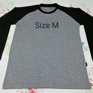Grey Cool-Fit Long Sleeve T Shirt