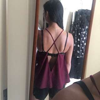 The Fifth Label Backless Top