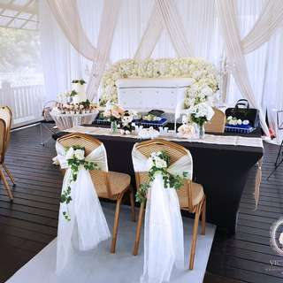 Orto Overall Wedding Decor Solemnisation Reception Stage Arch