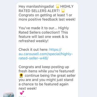 HIGHLY RATED SELLER ❤️💕