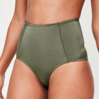 Khaki high waisted bottoms size 16