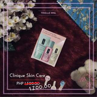 CLINIQUE SKIN CARE SALE! SWIPE