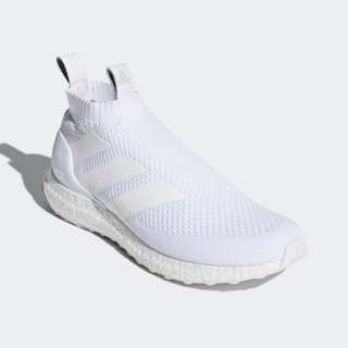 0d559eff30f Authentic Adidas Ace 16+ ULTRABOOST Triple White